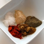 Dry Spice Mix for dusting over meat