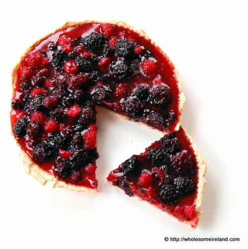 Summer Berry Tart - Wholesome Ireland - Irish Food & Parenting Blog