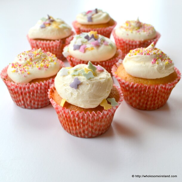 Baby Shower Cupcakes - Wholesome Ireland - Irish Food &amp; Parenting Blog