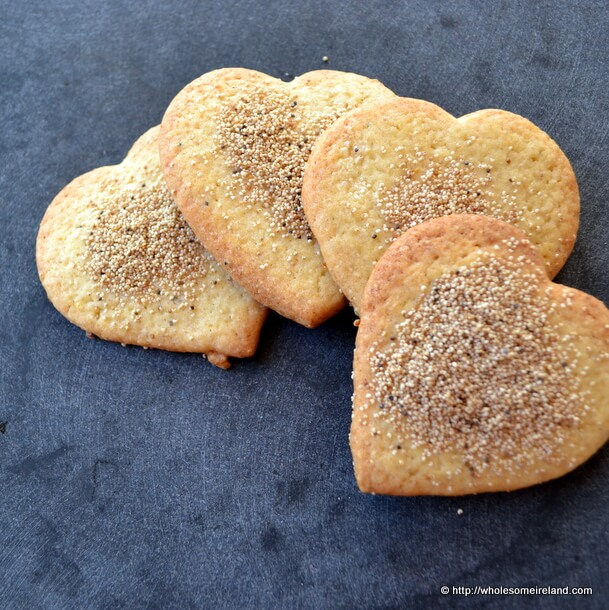 Lemon Poppyseed Biscuits with Quick Fruit Jelly from Wholesome Ireland - Irish Food & Parenting Blog