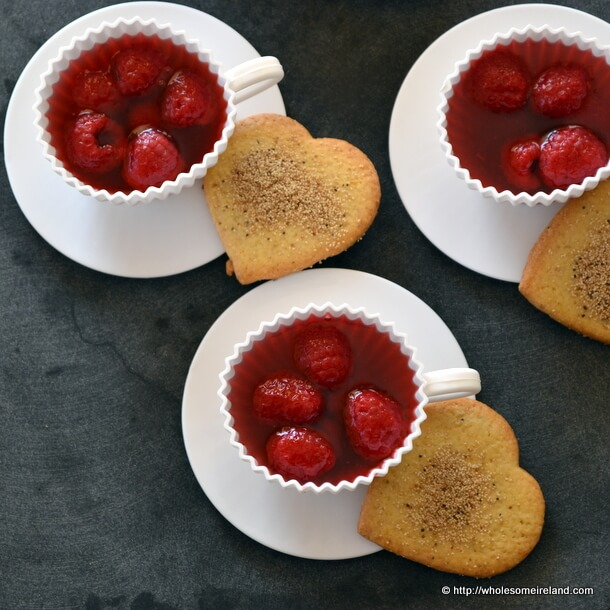 Lemon Poppyseed Biscuits with Quick Fruit Jelly from Wholesome Ireland - Irish Food &amp; Parenting Blog