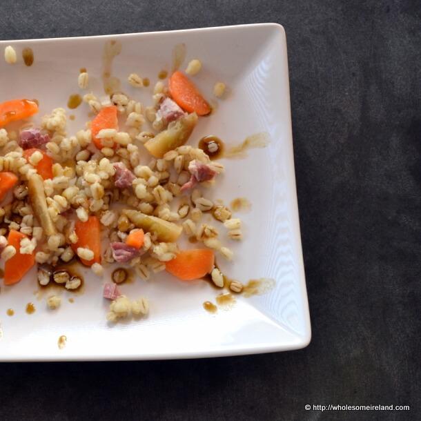 Pearl Barley Salad from Wholesome Ireland - Irish Food & Parenting Blog