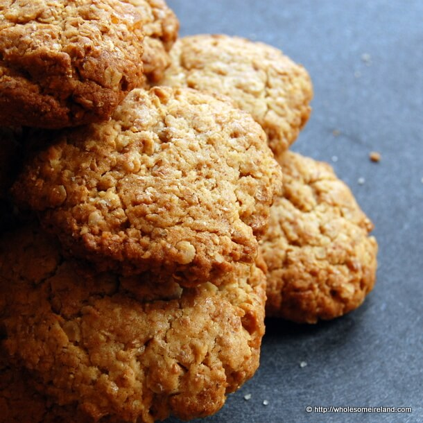 Ginger Crumbles - Wholesome Ireland - Irish Food & Parenting Blog