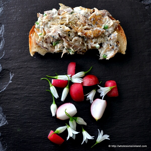 Smoked Mackerel Toast - Wholesome Ireland - Irish Food & Parenting Blog