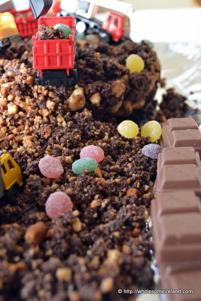 Building Site Cake - Wholesome Ireland - Food And Parenting Blog