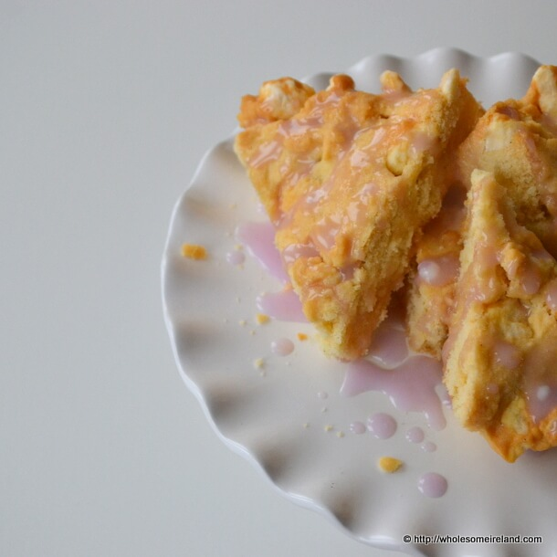 Rosewater Shortbread - Wholesome Ireland - Food & Parenting Blog