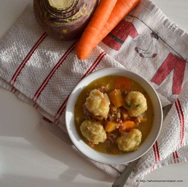 Ham Soup With Dumplings - Wholesome Ireland - Food & Parenting Blog