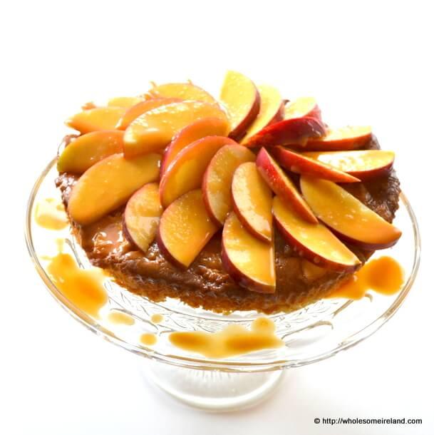 Toffee Apple Cake - Wholesome Ireland