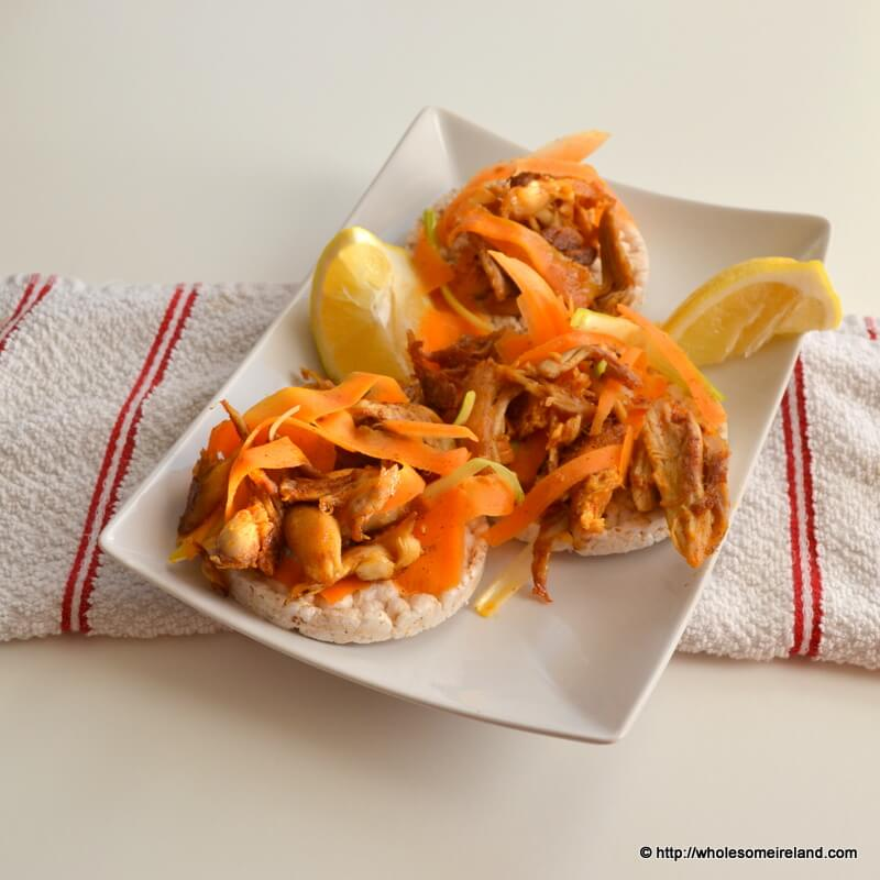 Turkey Carrot Rice Crackers - Wholesome Ireland - Food & Parenting