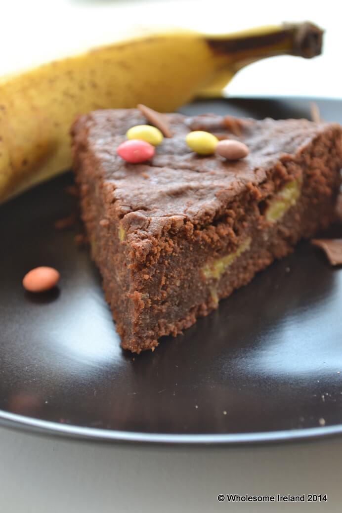 Chocolate Banana Cake - Wholesome Ireland